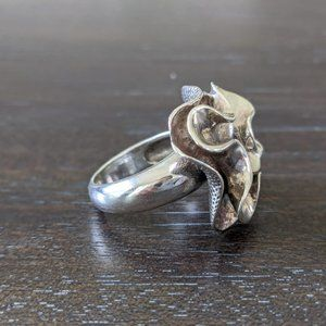 Silpada Sterling Silver Blooming Flower Ring